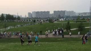 TimeLapse Перед началом шоу Фейерверков в Братеево