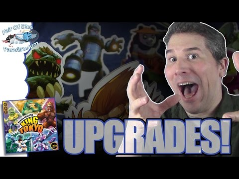 5 best upgrades for your King Of Tokyo game