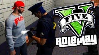 HUYO DE LA POLICIA Y ME PILLAN !! ROLEPLAY GTA V