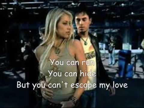 Escape Song (with Lyrics) -  Enrique Iglesias