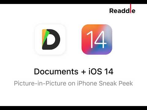 Documents iOS 14 Sneak Peek: Picture-in-Picture on iPhone