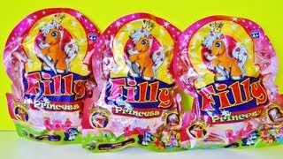 3 Filly Princess Blind Bags Opening