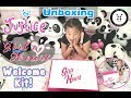 Unboxing Justice Girls With Heart Welcome Kit