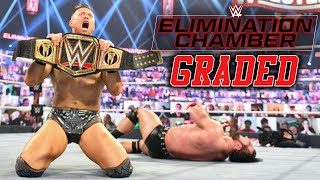 WWE Elimination Chamber 2021: GRADED | The Miz Cashes In To Become WWE Champion, Edge Picks Reigns!