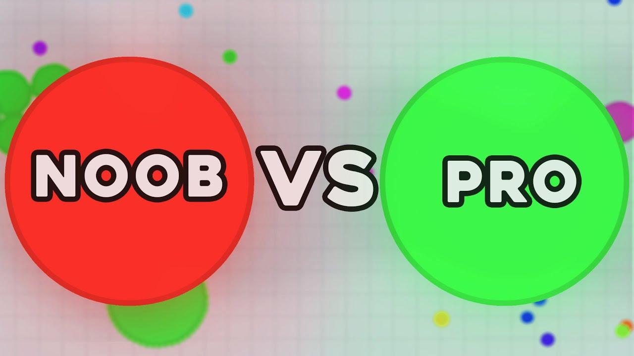 noob vs pro agar io