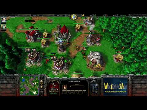 Romantic(HU) vs Moon(NE) - WarCraft 3 Frozen Throne - RN3351