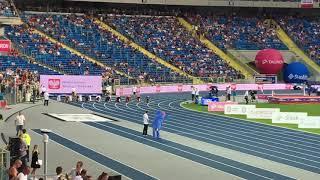 100m - 9,87 Ronnie Baker 10.21 Ramil Guliyev
