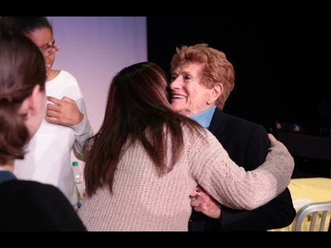 Holocaust survivors see own stories come to life at Wagner College musical performance