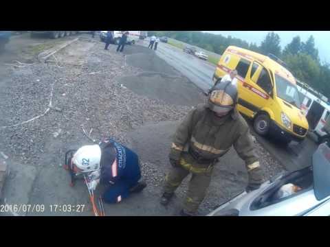 Страшная авария на ГБШ.Работа спасателей МАСС Новосибирска - Простые вкусные домашние видео рецепты блюд