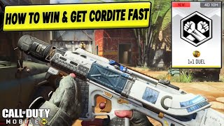 *NEW* HOW TO WIN 1V1 DUEL AND GET CORDITE FAST IN COD MOBILE (1V1 TIPS)