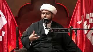 الشيخ علي البيابي - معنى أن السيدة سكينة عليها السلام مستغرقة في الله عز وجل