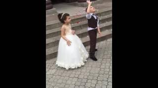 Свадьба Маленькие ангелочки . Красиво. Для девочек