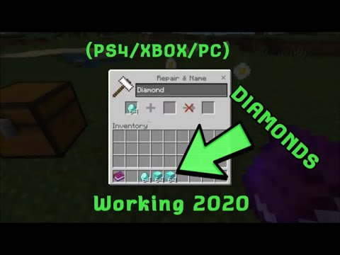How To Duplicate Diamonds In Minecraft Minecraft Duplication