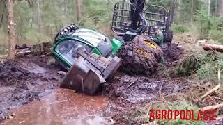 Wtopy maszyn leśnych 2018