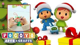 Покойо: Новогодние поделки - Игрушка на ёлку - Обучающее видео | Pocoyo Arts & Crafts