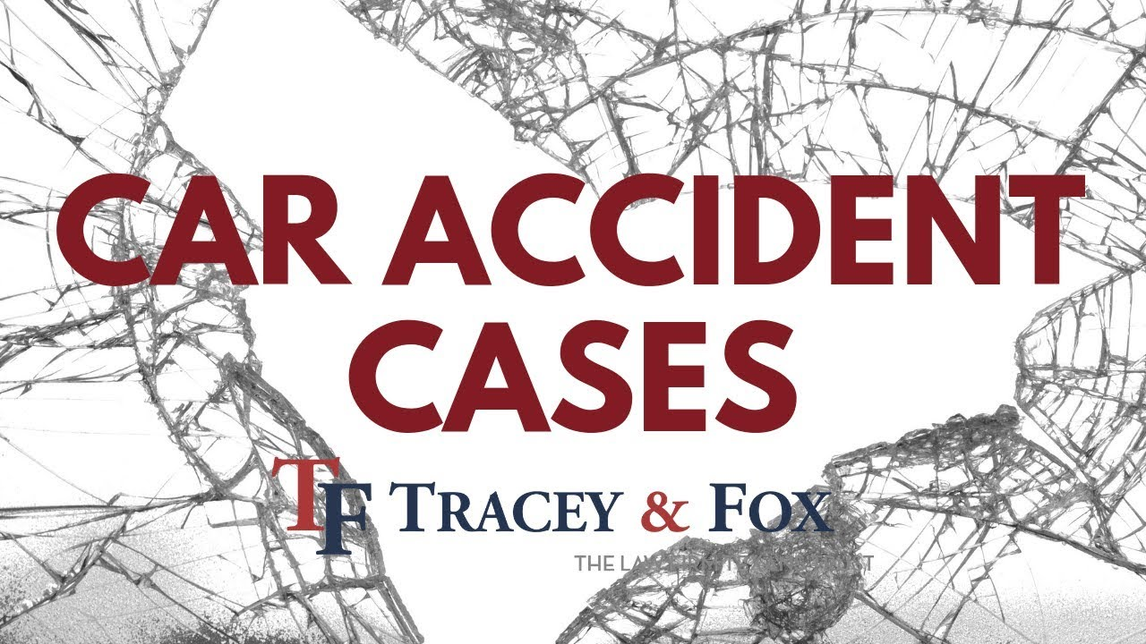 Texas Personal Injury Law Firm : Tracey & Fox