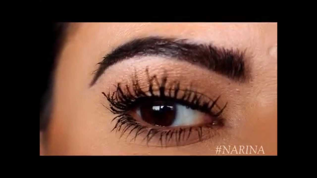 How To Make It Look Like Youre Wearing False Lashes Youtube