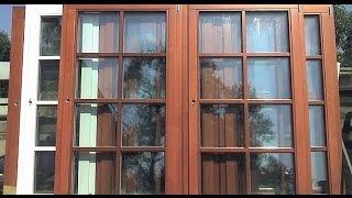 Как делают деревянные окна в Германии