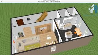 Modern Home Design for 20 * 35 Square feet