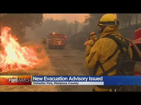 Detwiler Fire Continues To Grow, Sparks More Evacuation Advisories