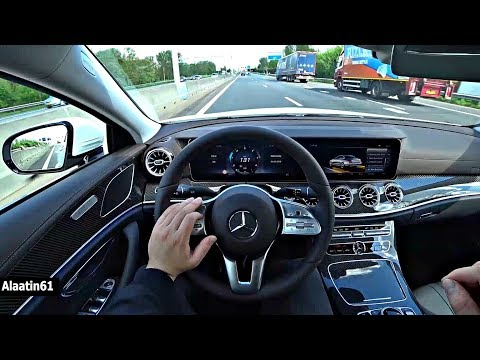 The Mercedes CLS 2018 Test Drive