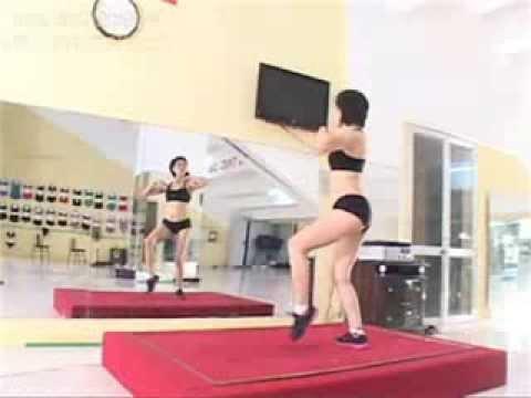 Thể dục thẩm mỹ - Bài Giật 12p. Liên hệ: 0987375790