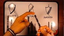 Tipos de brocas - Herramientas de bricolaje