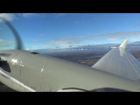 King Air 350i cabin tour in-flight