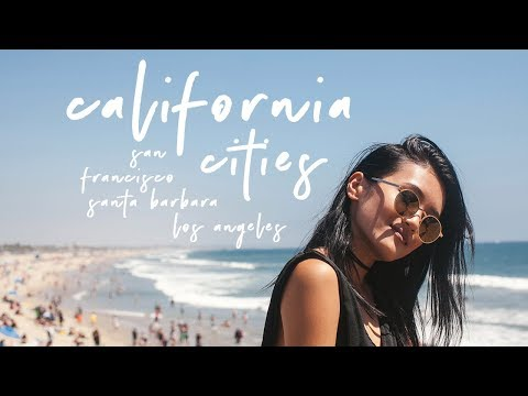CALIFORNIA CITY TOUR | San Francisco | Santa Barbara | Los Angeles