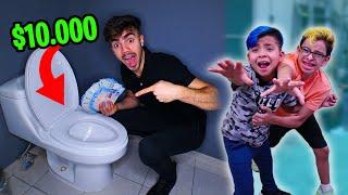 EL QUE ENCUENTRA LOS $10.000 SE LOS QUEDA!