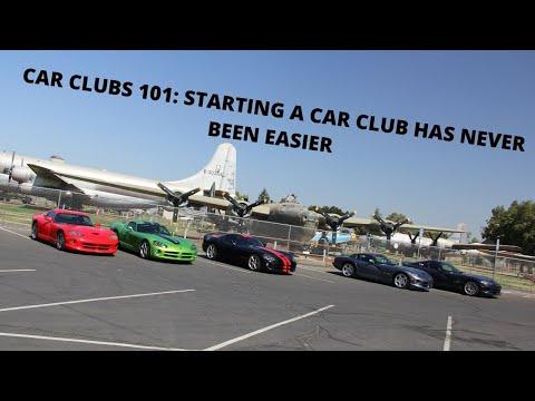 Car Clubs 101: Starting a Car Club