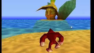 explorando la isla      Donkey Kong 64