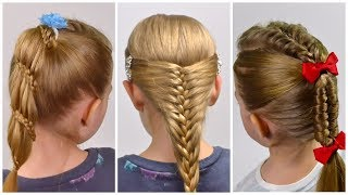 Beautiful hairstyles for Party/Prom/Wennding | Festival hairstyles for little girls #LittleGirlHair
