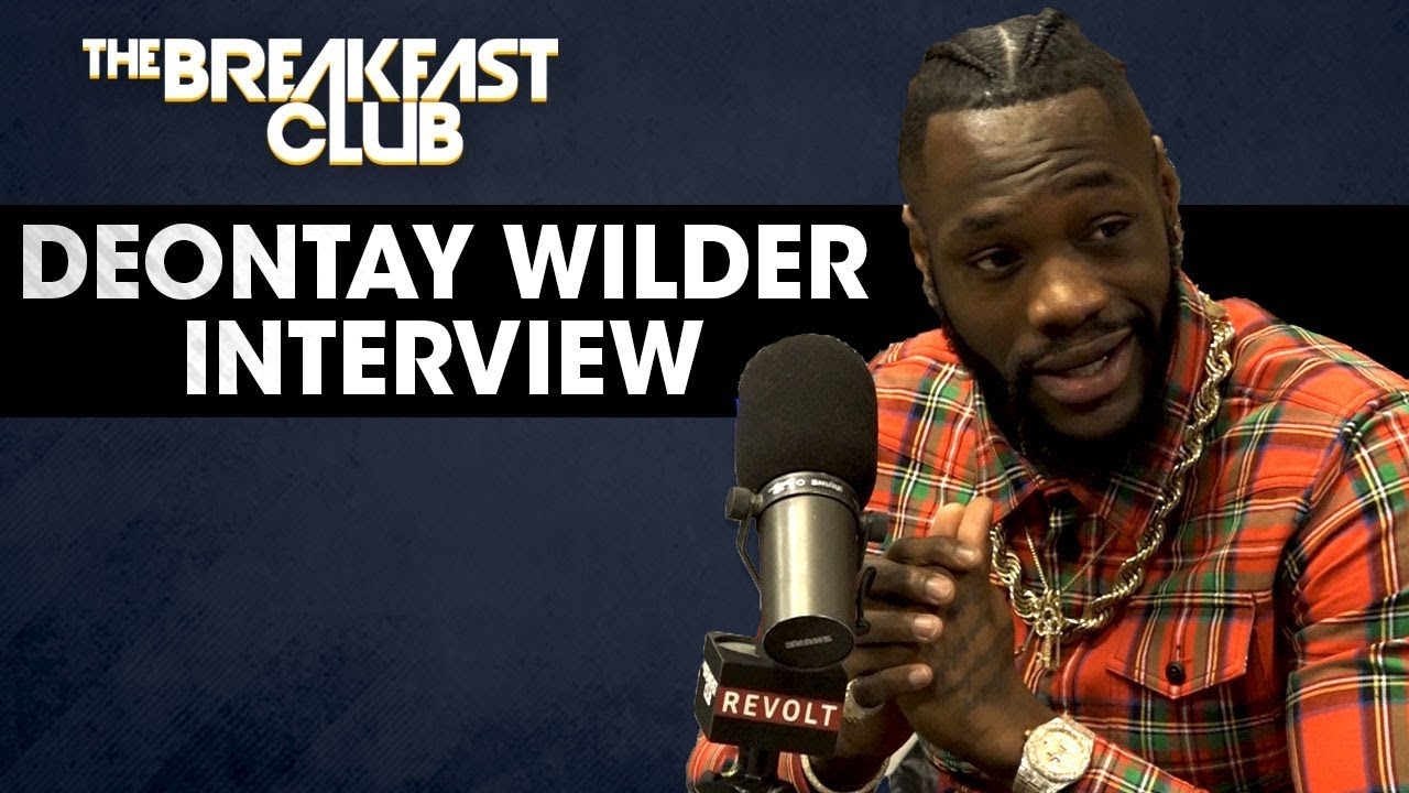 Deontay Wilder On His Last Fight Against Luis Ortiz, Battling Online Trolls, Family + More - YouTube