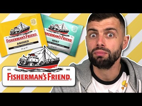 Irish People Try Fisherman's Friend