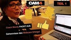 Geheimnisse des Webcam Erfolgs mit Coach Mandy (Teil 1)