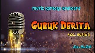 Download Mp3 Yusnia-gubuk Derita  Karaoke