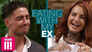 Can You Admit That You Cheated On Me? | Eating With My Ex: Stephen Bear & Jemma Lucy