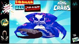 KING of CRABS 🦀 ALL CRABS UNLOCKED 🔑 COCONUT CRAB TRAILER SPECIAL❗️ #1 BEST GAMEPLAY 🔥 * dcB * 🔥