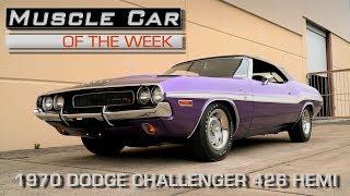 1970 Dodge Challenger 426 Hemi Convertible: Muscle Car Of The Week Video Episode #207