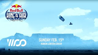 Ruben Lenten Crash - Red Bull King of the Air 2015