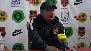 А Серегин  После матча с Горняком Спорт
