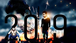 PicsArt Happy New Year 2019 editing tutorial make your own cool 2019 pic FULLY EXPLAINED