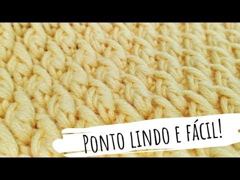 PONTO LINDO E FÁCIL PARA TAPETES( PONTO ALPINO) DIANE GONÇALVES