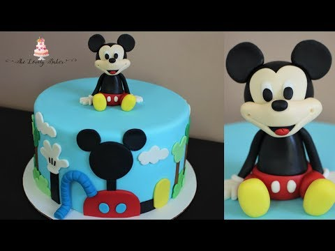 Disney Mickey Mouse Clubhouse Cake Tutorial!