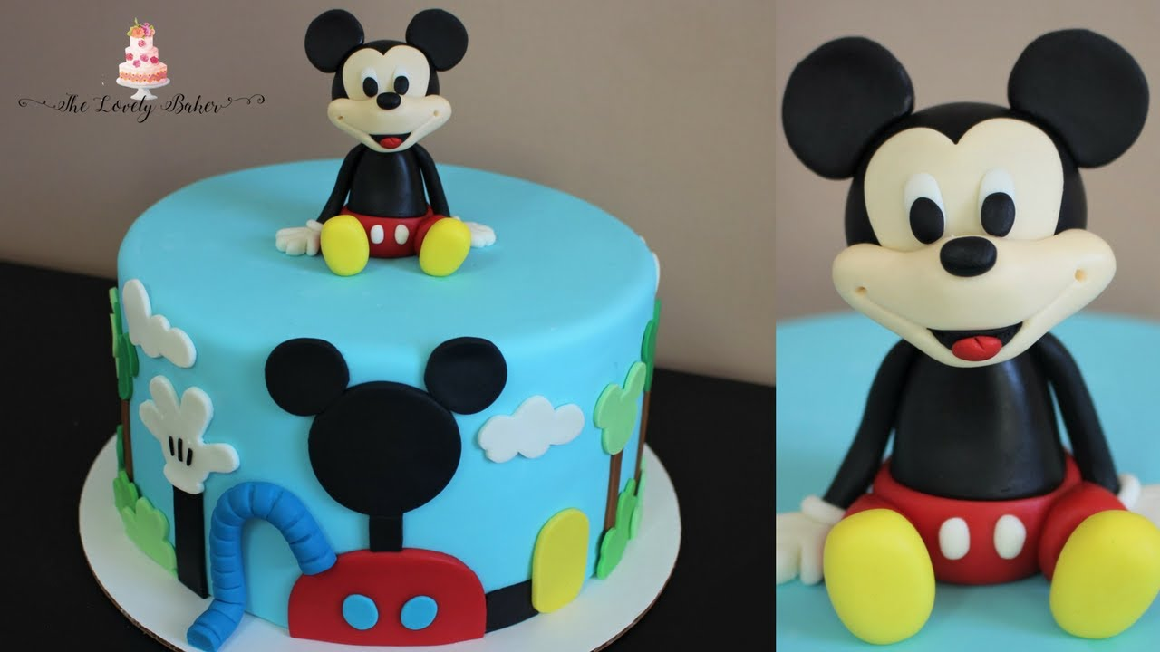 Disney Mickey Mouse Clubhouse Cake Tutorial Youtube