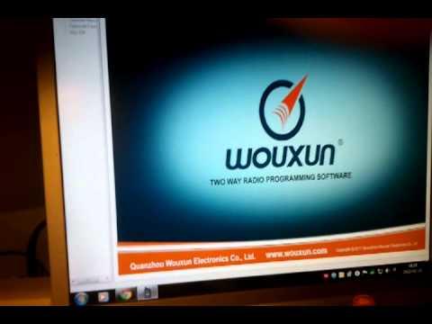 Wouxun KG-UV6D Programowanie częstotliwości