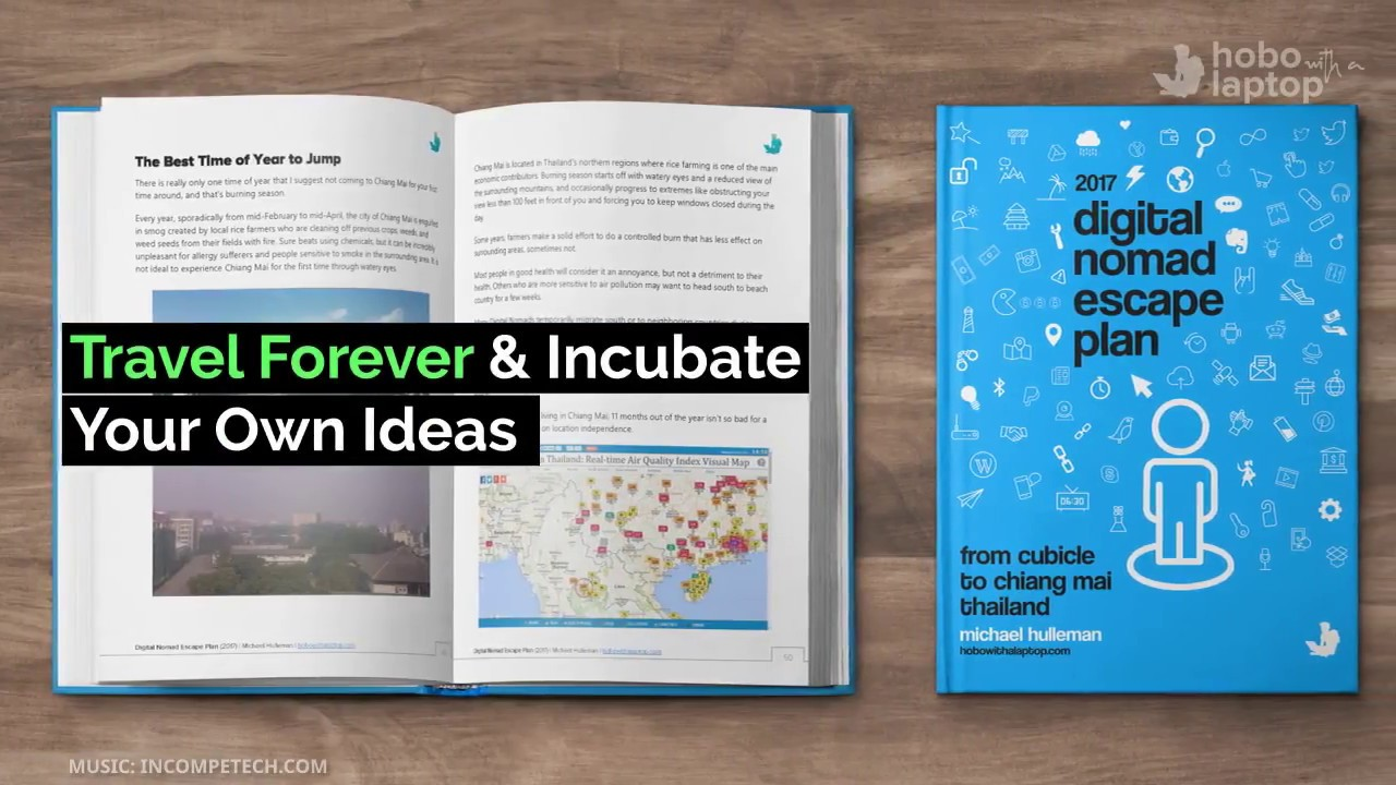 Travel & Incubate Your Own Ideas