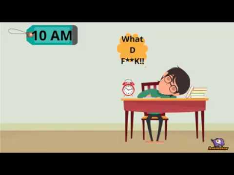LIFE CYCLE OF AN EXAM ;)-Watch this funny video and share it if you have felt similar emotions ;)