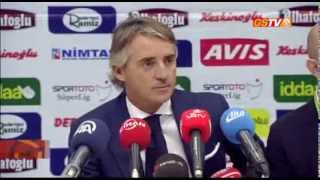 STSL Akhisar Belediyespor Maç Sonu Roberto Mancini